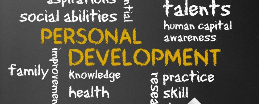 Personal Development on a chalkboard
