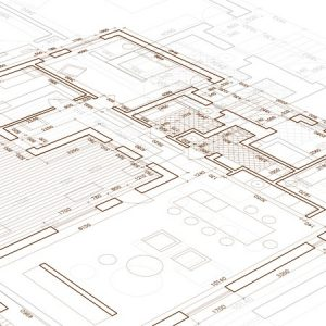 39970418 - architectural blueprint. vector drawing background.